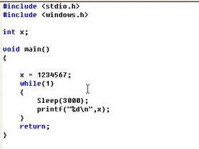C语言3 -变量
