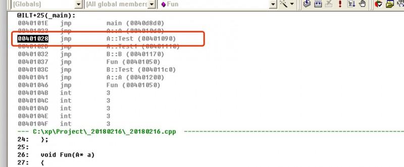 Cpp7 C++的多态实现 -- 虚表