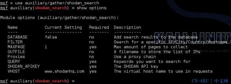 Shodan搜索引擎介绍