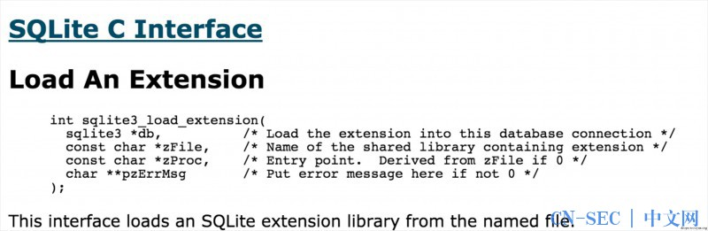 Android sqlite load_extension漏洞解析