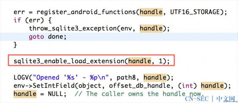 Android sqlite load_extension漏洞解析| CN-SEC 中文网