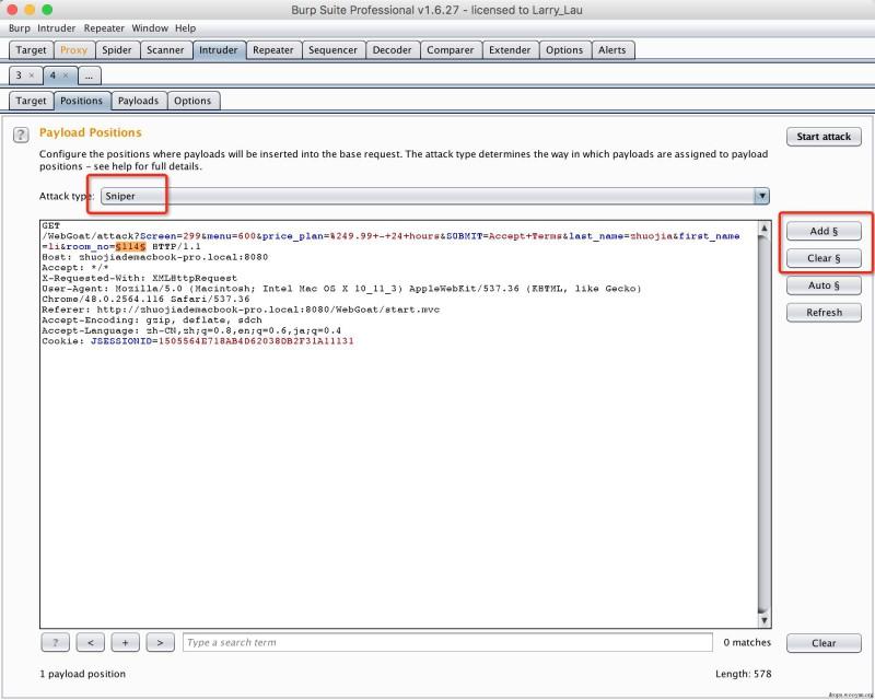 Webgoat学习笔记