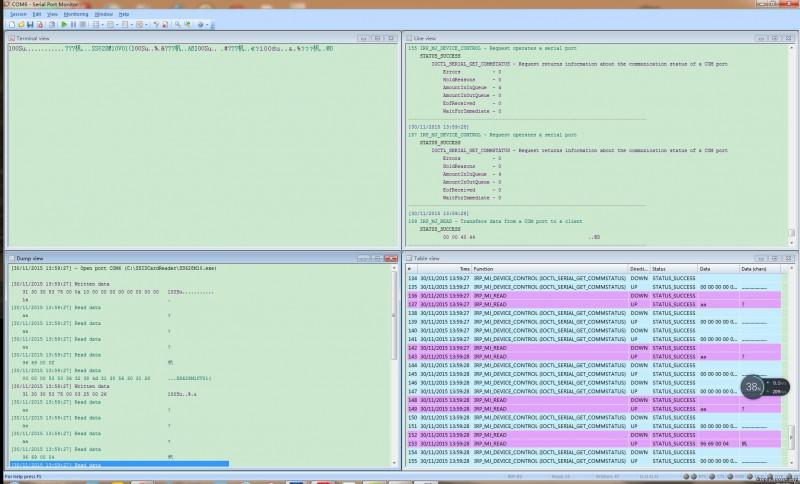 串口数据抓取及串口通信模拟