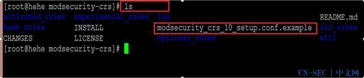 配置ModSecurity防火墙与OWASP规则