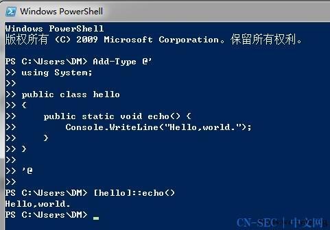 Powershell and Windows RAW SOCKET