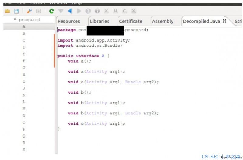 Android应用分析进阶教程之一 初识JEBAPI