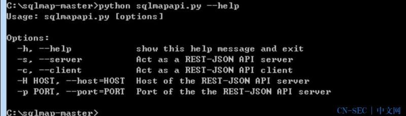 使用sqlmapapi.py批量化扫描实践