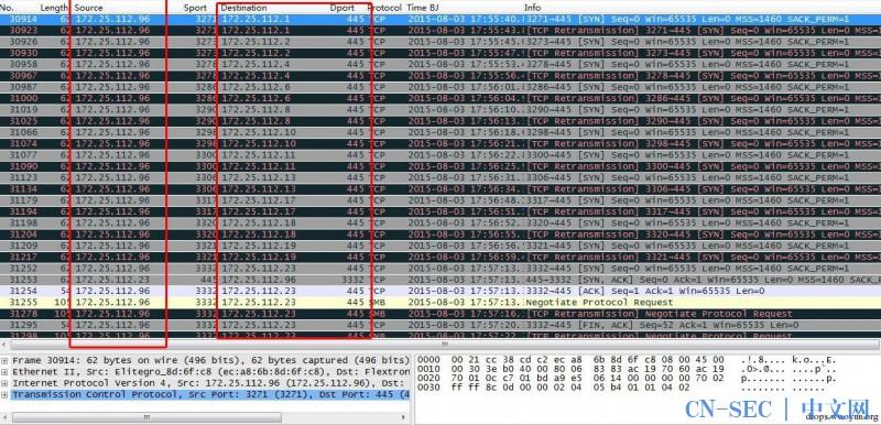 "WireShark黑客发现之旅(6)—""Lpk.dll劫持+ 飞客蠕虫""病毒"