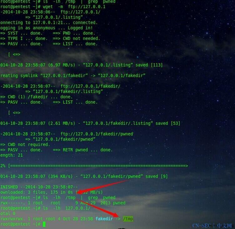 linux symbolic link attack tutorial