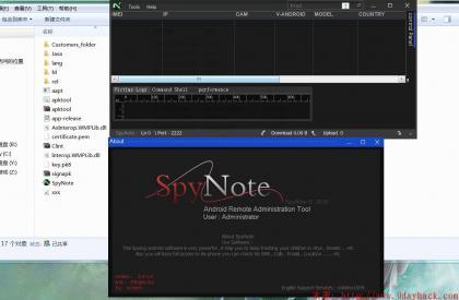 一款国外最新手机远控程序(SpyNote v2.4.1)