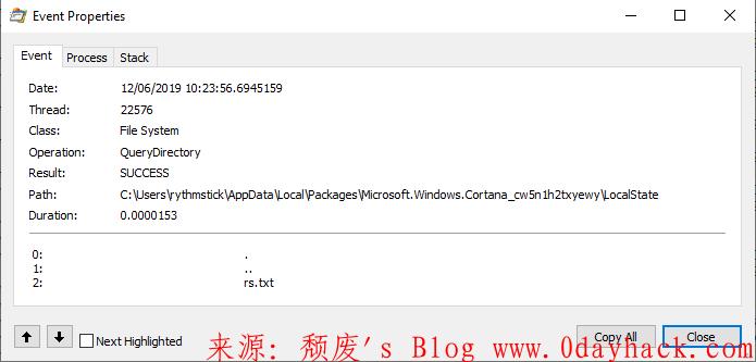 CVE-2019-1064 AppXSVC本地权限提升漏洞分析及poc