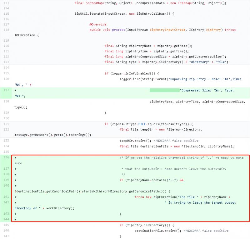 [CVE-2018-1261]Spring Integration Zip不安全解压漏洞分析