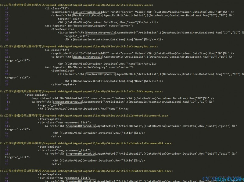 ShopNum1某系统6处高危SQL注入漏洞