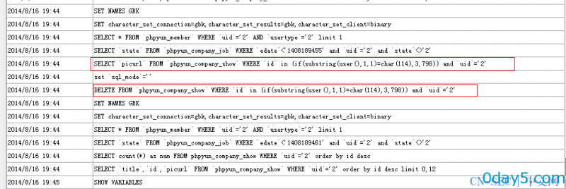 Phpyun SQL注入两枚