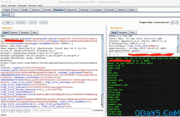 DZ X2.5!远程命令执行漏洞分析