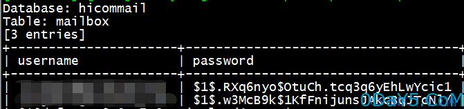 佑友mailgard webmail无需登录的SQL注射一枚