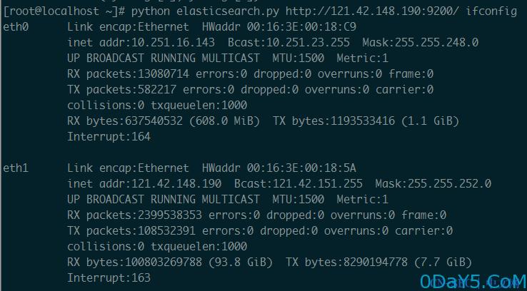 ElasticSearch Groovy脚本远程代码执行漏洞