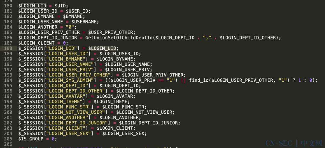 通达OA < 11.5任意用户登录漏洞分析