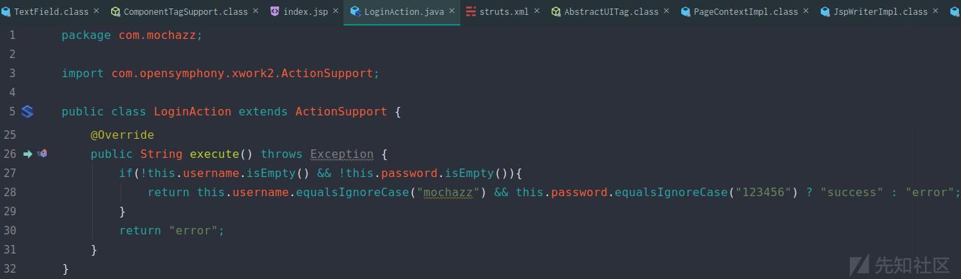 Java代码审计之Struts2-001