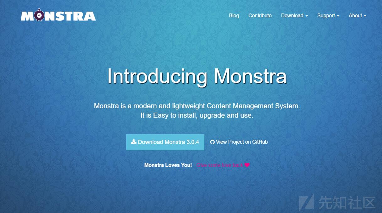Monstra CMS RCE漏洞分析(CVE-2020-13384)