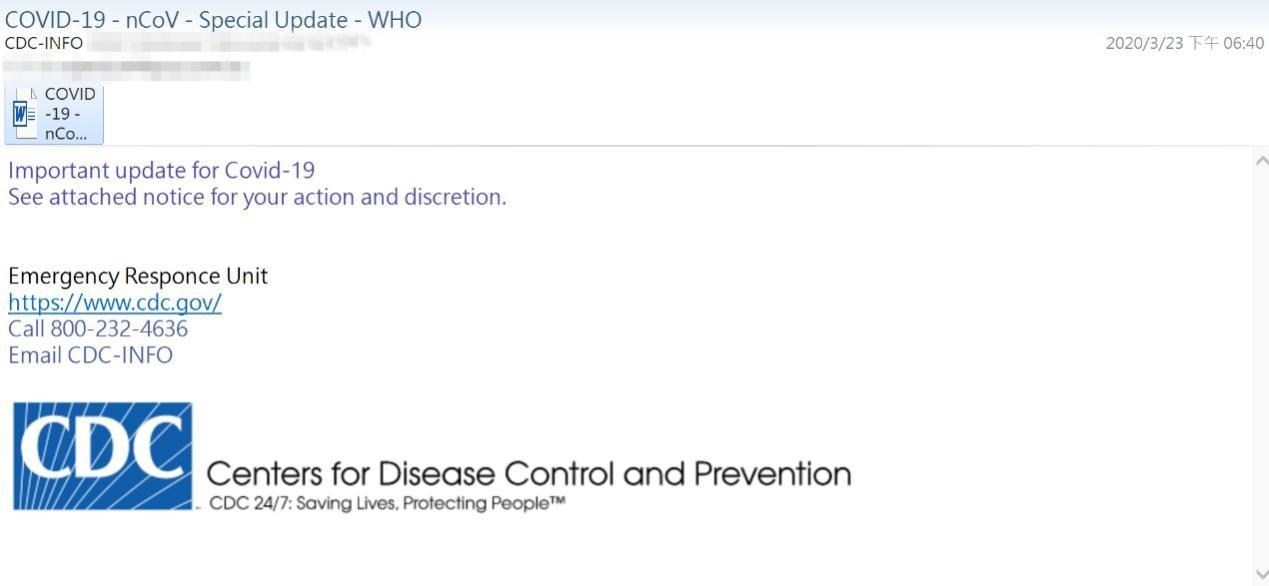 ASRC 2020 年第一季度邮件安全观察
