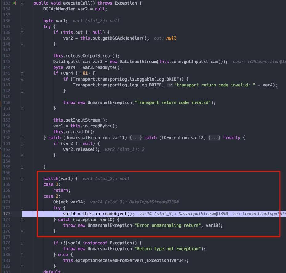 RMI Bypass Jep290(Jdk8u231)反序列化漏洞分析