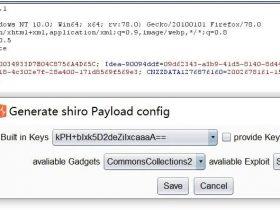 Shiro回显利用工具(更新为burp插件