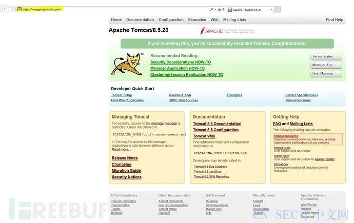 挖洞经验 | 通过Tomcat Servlet示例页面发现的Cookie信息泄露漏洞