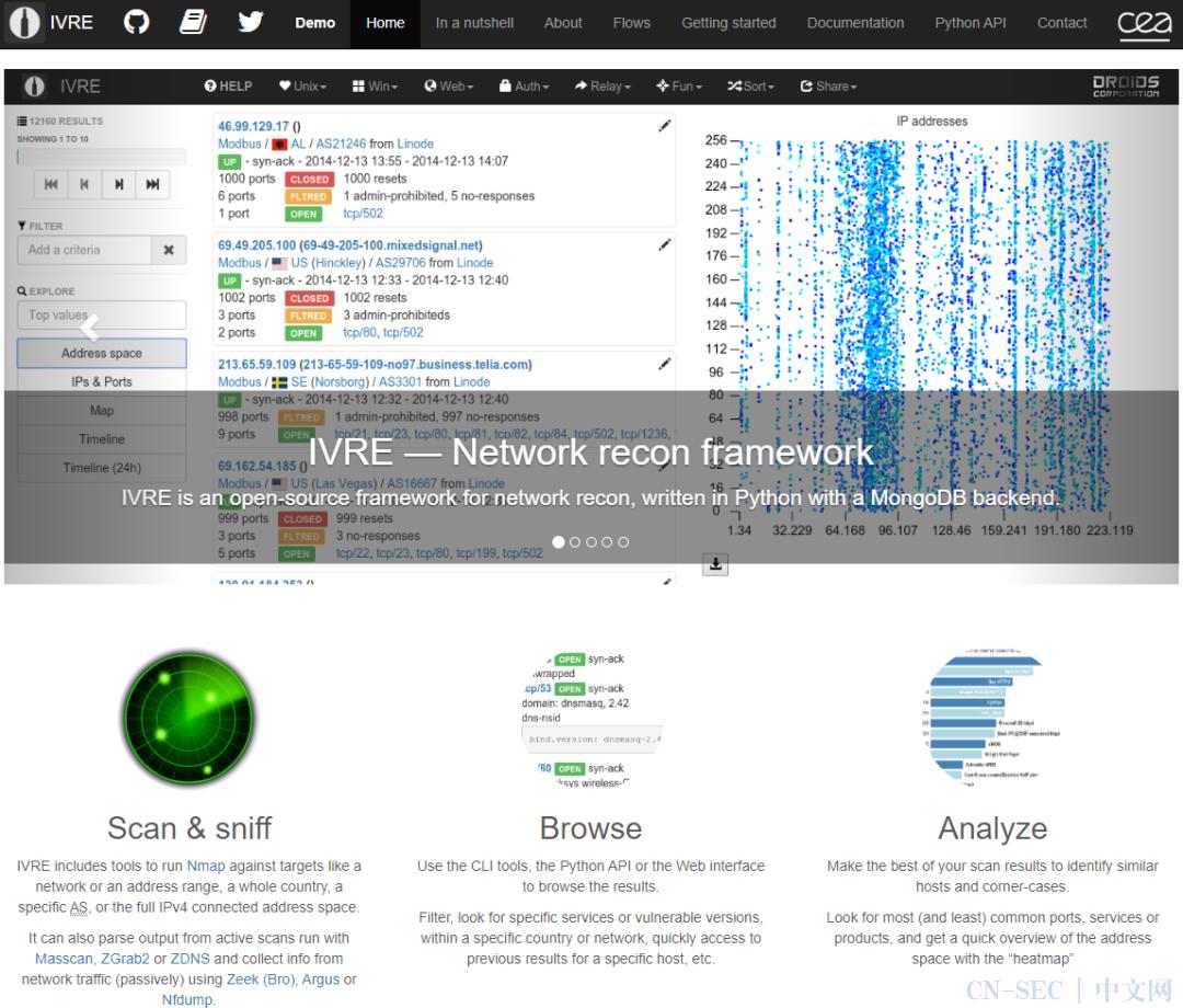 全球知名25种开源情报库汇总