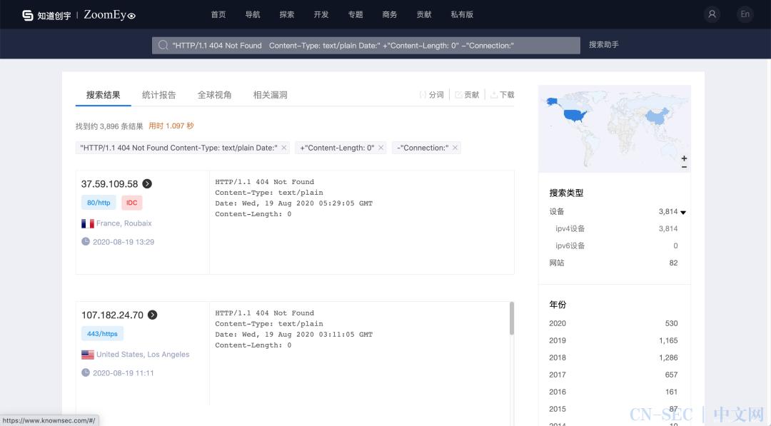 利用 ZoomEye 追踪多种 Redteam C&C 后渗透攻击框架