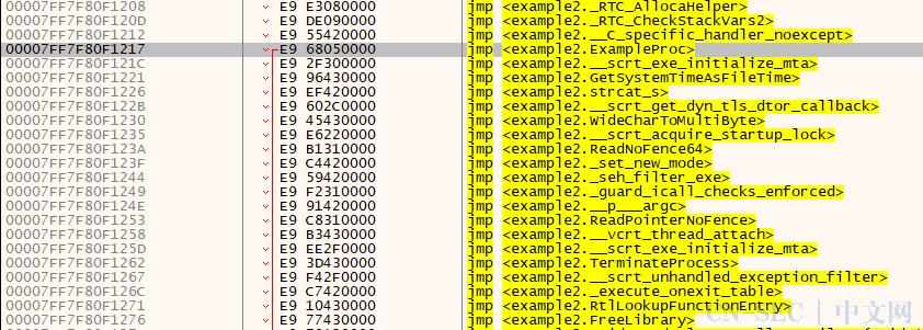 让C语言源码可知自身函数的实际地址与大小