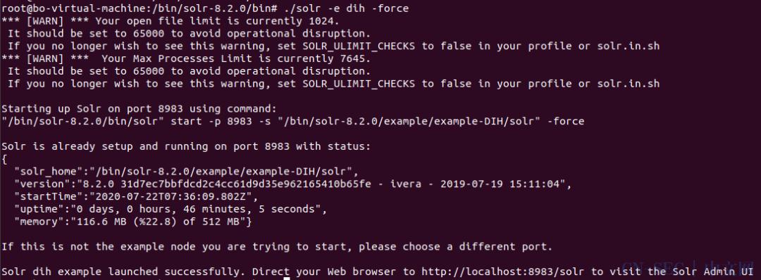 一文排查Apache Solr远程代码执行漏洞CVE-2019-12409