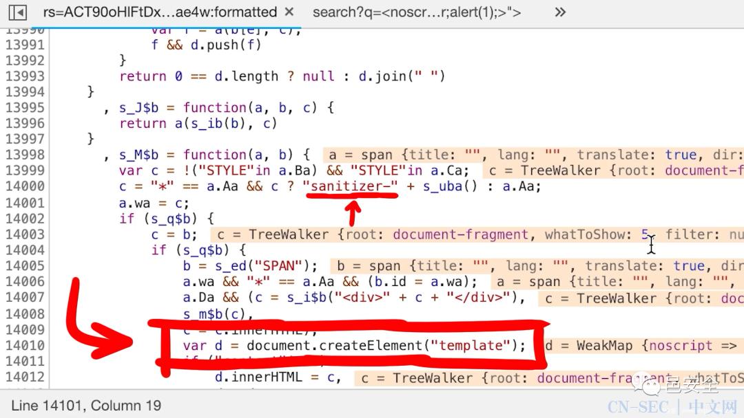 Google Search XSS漏洞分析