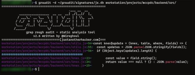 使用命令行工具 Graudit 来查找你代码中的安全漏洞 | Linux 中国