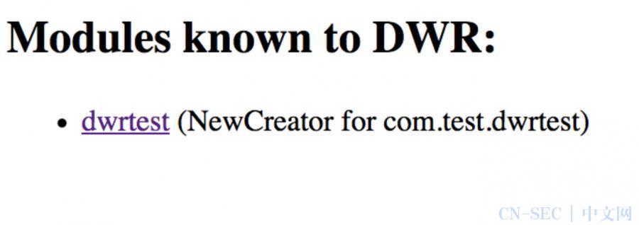 原创   JaveWeb中常见的信息泄漏——DWR类测试地址