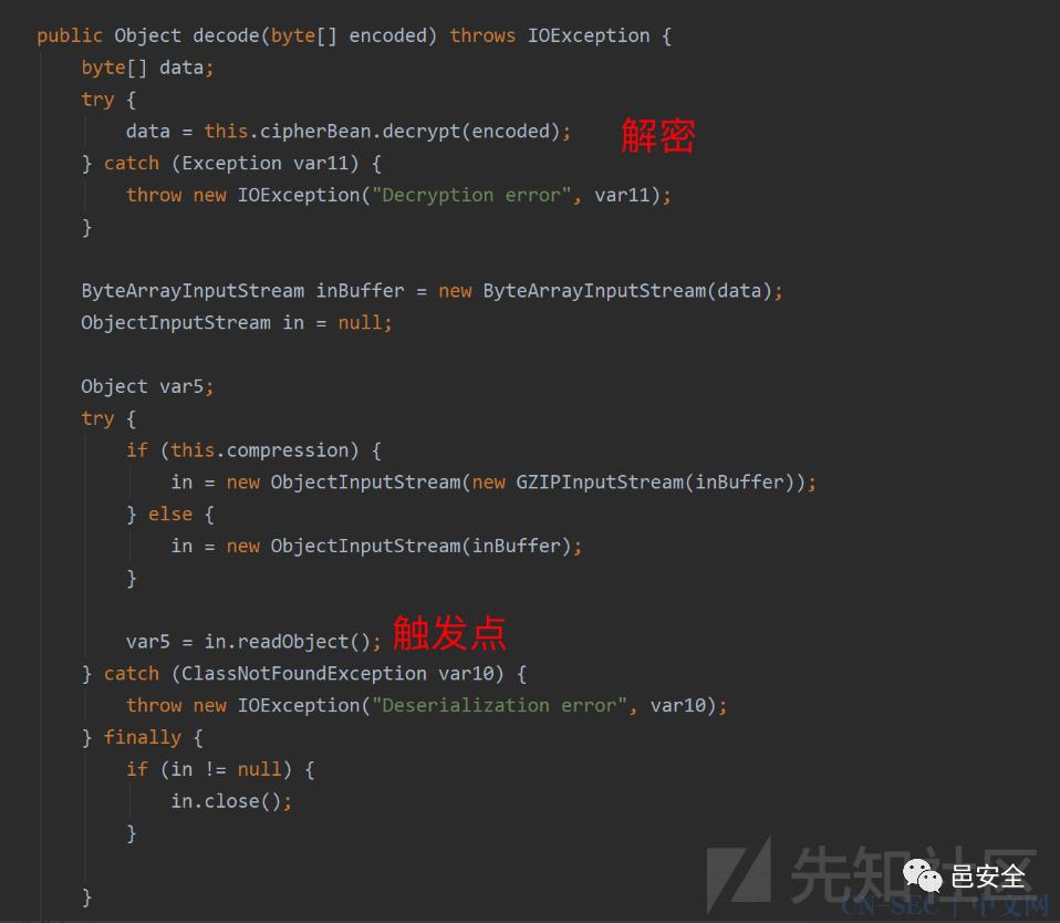 Apereo Cas 4.1.x 反序列化回显与检测