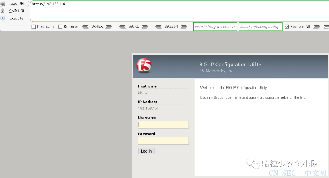 CVE-2020-5902 F5 RCE漏洞复现