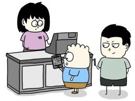 漫画:如何盗刷别人的支付宝?