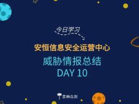 【周一福利】HVV威胁情报总结 DAY10+漏洞全家桶