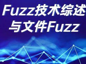 Fuzz技术综述与文件Fuzz
