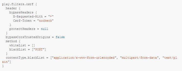 如何绕过Play框架中的CSRF保护(CVE-2020-12480漏洞)