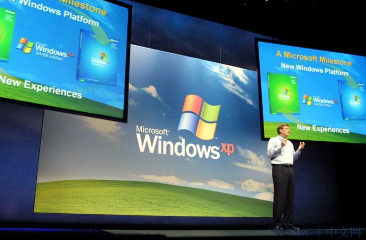 19年来首次!Windows XP源代码在网上泄露