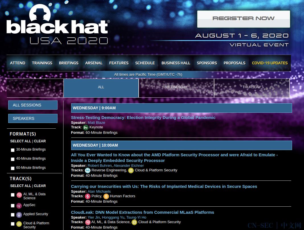BlackHat USA 2020 资料爬虫最佳姿势与打包下载